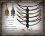 The Muses Jewelry . Contessa . 2 metals, 5 pearl colors