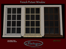 Mesh French Picture Window