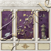 ~TTT~ French Wall Panels With & Without Chinoiserie Set 2