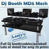 Dj Booth MD5 Lowprim Mesh