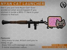 [PE) Nyan cat launcher