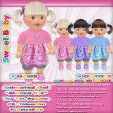 "Sweet Baby - Animated Doll ""Bianca"" [Walk, Talk & Play !!!]"