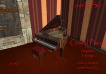 GRAND PIANO OAK [LiS]50% VALENTINES SPECIAL