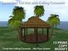 [satus Inc] Tiki Hut with Falling Coconuts