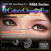 S@R 004 Sparkling Eye mild 6color