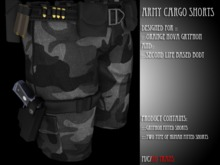 Z.A.F_ArmyShorts_Snow (Boxed)