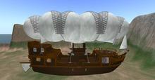 Flying Fantasy Airship