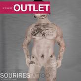 SOURIRES - Dado TATTOO (Homme)
