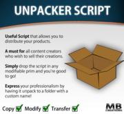 Unpacker Script - unbox to folder!