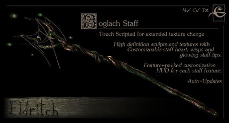 Boglach Staff