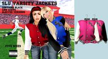 "SLU Varsity Jacket ""TuttiFrutti"" (mesh) - even.flow"