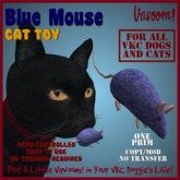 Blue Mouse Pet Toy By Vavoom! Boxed - Toys and Accessories for Virtual Kennel Club (VKC®) Pets - No Training Required