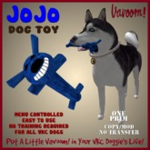 JoJo-Blue Pet Toy By Vavoom! Boxed - Toys and Accessories for Virtual Kennel Club (VKC®) Pets - No Training Required