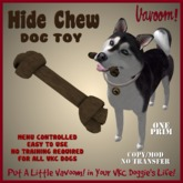 Hide-Chewy Dog Toy by Vavoom! Boxed - Toys and Accessories for Virtual Kennel Club (VKC®) Dogs