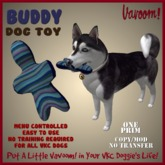 Buddy-Blue Pet Toy By Vavoom! Boxed - Toys and Accessories for Virtual Kennel Club (VKC®) Pets - No Training Required