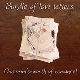 Domicile Bargain Basement: Bundle of love letters