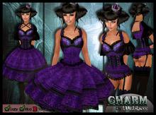 [Wishbox] Charm (Amethyst Purple) - EGL Gothic Lolita Goth Victorian Corset Dolly Babydoll Dress