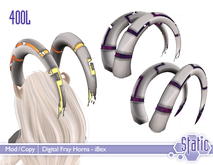 ::Static:: Digital Fray Horns - iBex