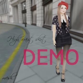 ''{ RoA }'' -<DEMO>High waist skirt