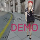 ''{ RoA }'' -<DEMO>High waist skirt