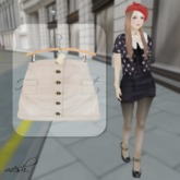 ''{ RoA }'' -High waist skirt (A)CR