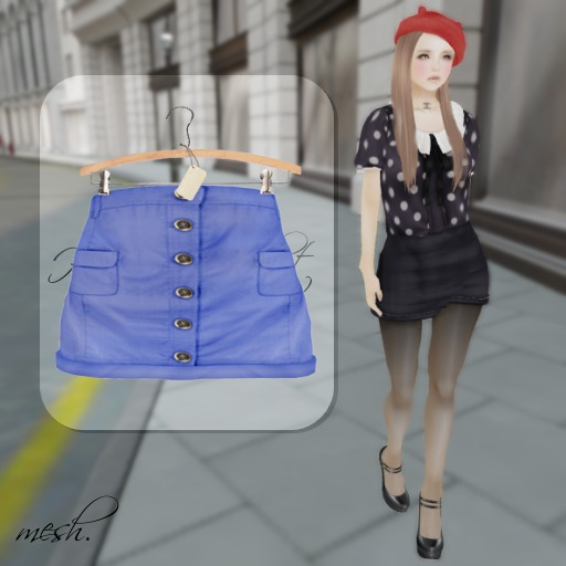''{ RoA }'' -High waist skirt (A)BL