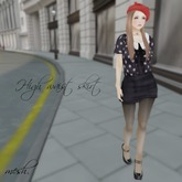 ''{ RoA }'' -High waist skirt (ALL FAT)
