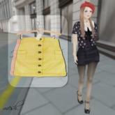 ''{ RoA }'' -High waist skirt (A)-FAT-