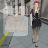 ''{ RoA }'' -High waist skirt (B)SV