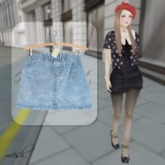 ''{ RoA }'' -High waist skirt (B)LBL
