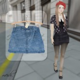 ''{ RoA }'' -High waist skirt (B)DBL