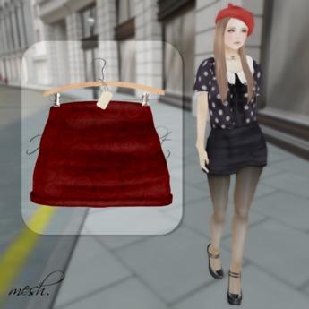 ''{ RoA }'' -High waist skirt (D)RD