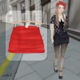 ''{ RoA }'' -High waist skirt (E)RD