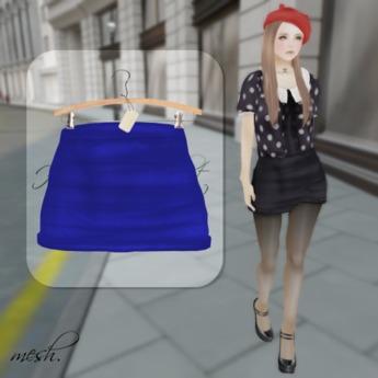 ''{ RoA }'' -High waist skirt (E)BL