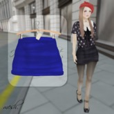 ''{ RoA }'' -High waist skirt (E)BL