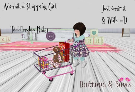 :BB: Animated shopping cart for Toddleedoo baby