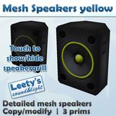 Mesh Speakers yellow