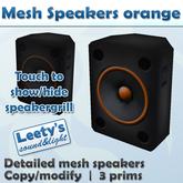 Mesh Speakers orange