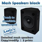 Mesh Speakers black
