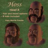 Hoss Head A (head,jaw,hair,beard,hats)