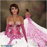 !BH ~ Princess lover ~ Pink/White~Formal- Bridal- Gown- Wedding