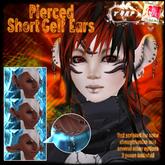 [][]Trap[][] [ni.Ju] Short Gelf Ears Pierced