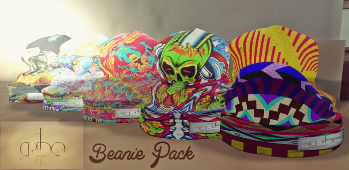 CREDO - [Graphic beanie] Pack 1