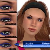 Wear it 4 ways! Flattery Cosmetics Eye Liner Pencil - Bay Blue