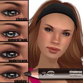 Wear it 4 ways! Flattery Cosmetics Eye Liner Pencil - Café Mocha