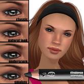 Wear it 4 ways! Flattery Cosmetics Eye Liner Pencil - Charcoal