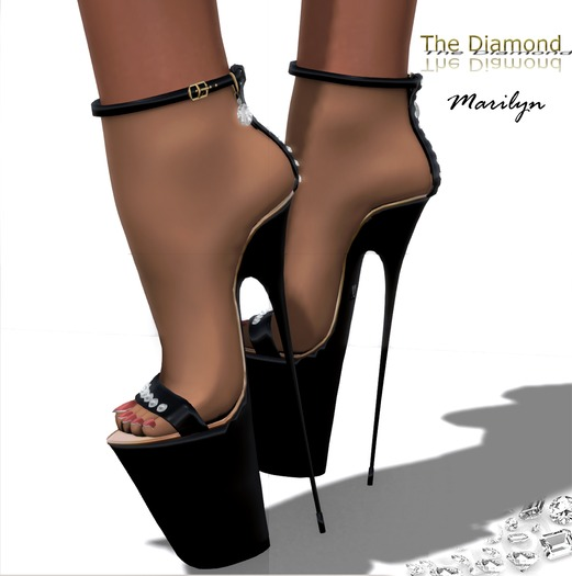 :: Masha :: The Diamond Marilyn / BLACK
