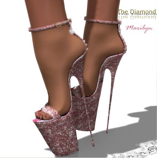 :: Masha :: The Diamond Marilyn / PINK GLITTERS