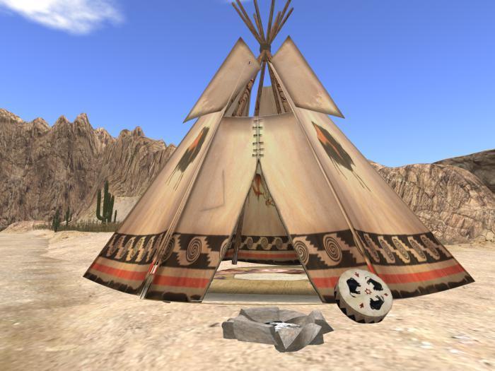 *Native American Teepee BOXED*