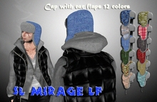 Winter hat with ear flaps 12 colors
